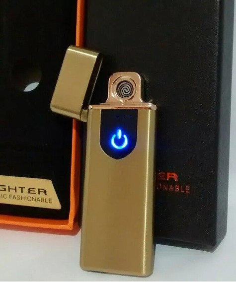 Isqueiro Elétrico Eletrônico Laser Usb Recarregável Barato