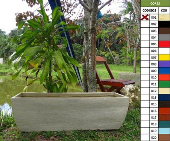 Vaso Planta 100x30 Jardineira Floreira Polietileno