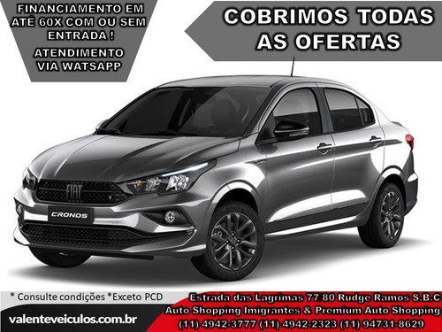 Fiat Cronos 1.8 Hgt (aut) (flex) 2021 *todas As Cores*