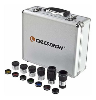 Kit De Filtro Y Ocular Celestron Accesorios Para Telescopio