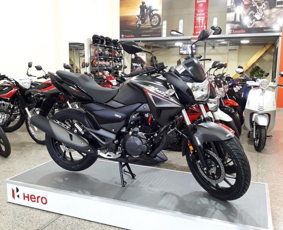 Hero Hunk 200 Abs 0km Ruggeri Motos 12 Ctas De 12135