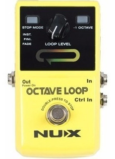 Nux Octave Loop Pedal Looper Octavador Outlet Housemusic