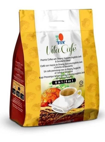 Café Dxn 6 En 1 Super Capuccino Latte   Vitacafé   Cremoso