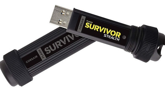 Pen Drive 64gb Corsair Survivor Flash Drive Usb 3.0+brinde