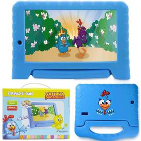 Tablet Infantil Galinha Pintadinha 7 Pol Quad Core 8gb Wifi