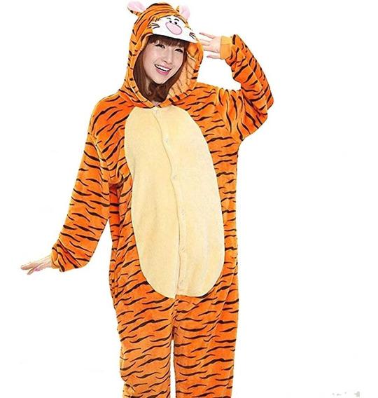 Pijama Tigger Mameluco Disfraz Con Envío Gratis