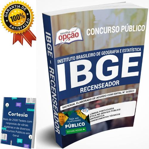 Apostila Concurso Ibge - Recenseador - Completa