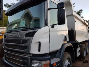 Scania P 360 6x4 Ano 2012/2012 Caçamba Rossetti Semi Novas