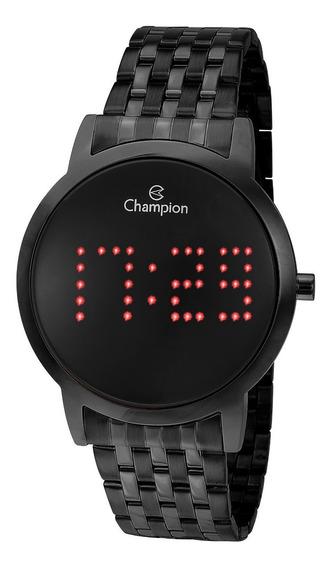 Relógio Champion Feminino Ch40008d Digital, Preto, Garantia.