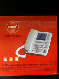 Telefonocon Manos Libres,identificacion De Llamadas Claro