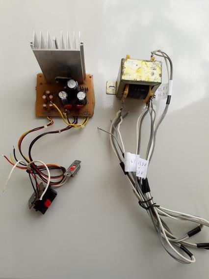 Kit Amplificador Áudio Transformador