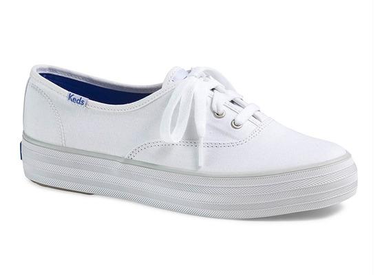 keds blancos de mujer tallas grandes
