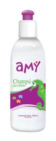 Champú Para Bebés Amy Caja De 12 Unidades Con 200 Cc C/u.