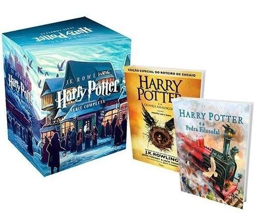 Livro Box Coleção Harry Potter - 7 Volumes + Vol. 8