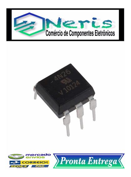 4n26 Optoacopladores De Saída Transistorizados (03 Pç.)