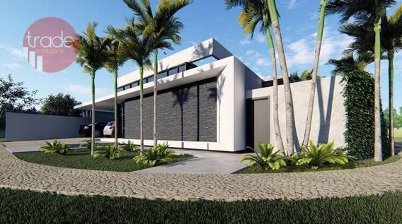 Casa Com 4 Dormitórios À Venda, 250 M² Por R$ 1.200.000 - Condomínio Quinta Da Primavera - Ribeirão Preto/sp - Ca2943