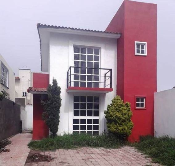 Casa En Venta Villas Del Campo, Metepec . 2 Rec., 2 Autos.