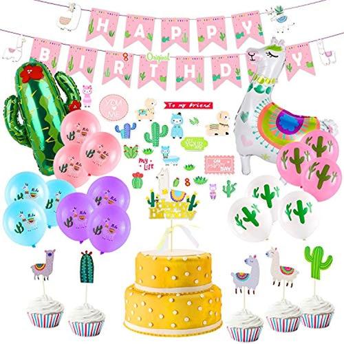 Suministros Para Fiesta De Cumpleaños, Decoraciones