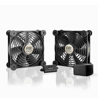 Ac Infinity Multifan S7-p, Quiet Dual 120mm Ac-powered Fan W