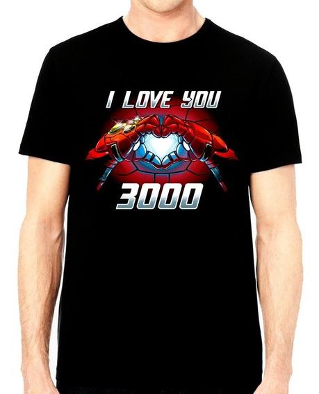 Playera Iron Man I Love You 3000 Avengers Endgame $250