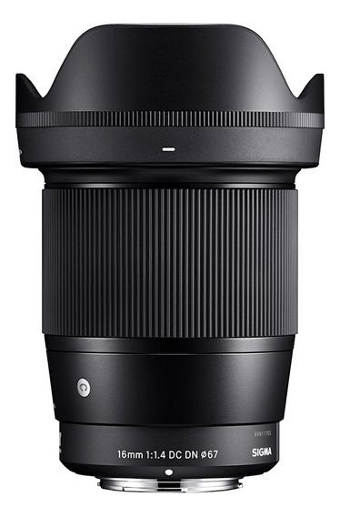 Lente Objetiva Contemporary 16mm F/1.4 Sigma Psony