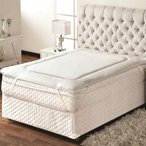 Pillow Top King 193x203 Cm Protetor De Colchao 1,93 X 2,03