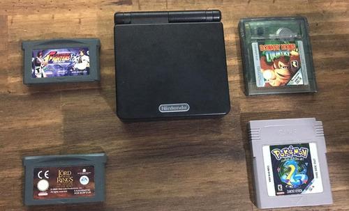 Gameboy Advance Sp + 4 Juegos