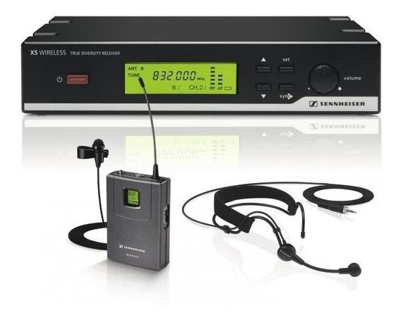 Headset Con Micrófono Inalámbrico Sennheiser Xsw 52