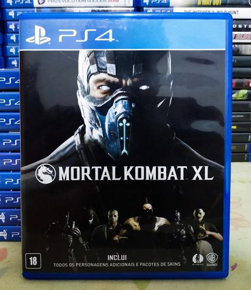 Mortal Kombat Xl - Jogo Ps4 Mídia Física Português Dublado