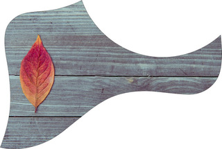 Escudo Palheteira Resinada Violão Aço Estilo Taylor Wood 2