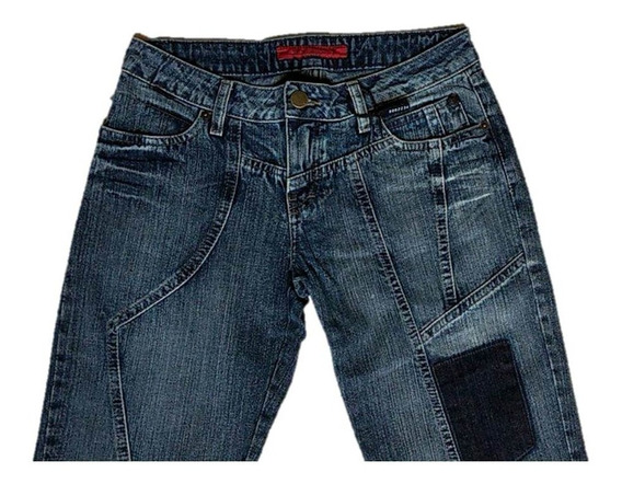 Calça Jeans Feminina Flare Barra Desfiada - Ellus Original