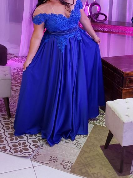Vestido De Formatura Azul Royal