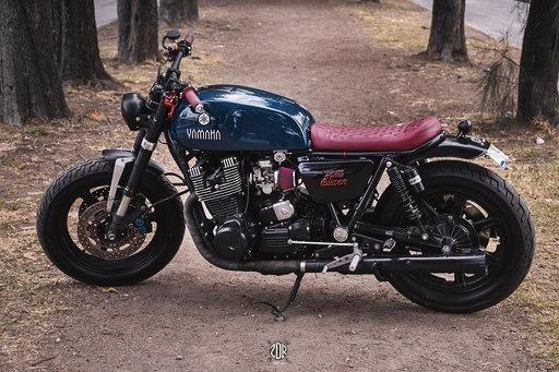 Yamaha Cafe Racer Scrambler
