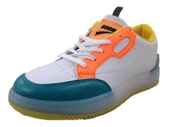 Zapatos Deportivos Boom Para Dama Multicolor
