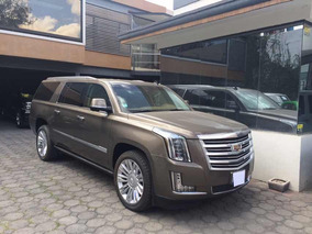 Cadillac Escalade Esv 6.2 Platinum At 2016