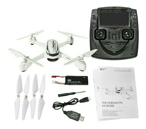 Drone Hubsan H502s Gps Com Monitor