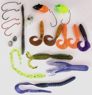 Kit Traira Open 25 Itens Pesca Sul