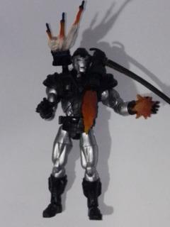 Figura Muñeco De Super Héroe War Machine Máquina De Guerra