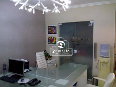 Sobrado Com 3 Dormitórios À Venda, 188 M² Por R$ 750.000 - Vila Assunção - Santo André/sp - So2345