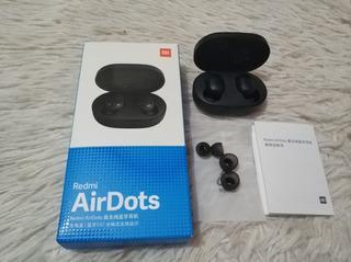 Fone Bluetooth Xiaomi Original Air Dots Preto Promoção