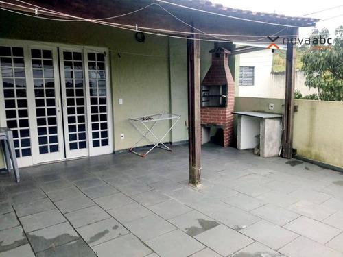 Sobrado Com 3 Dormitórios À Venda, 235 M² Por R$ 595.000,00 - Parque Gerassi - Santo André/sp - So0662