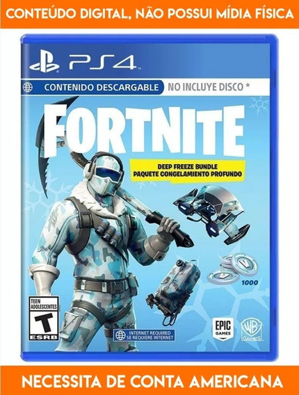 Fortnite Deep Freeze Bundle Eu Ps4 Cd Key Original