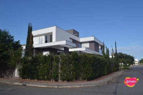 Imagem 1 de 30 de Casa Com 4 Dormitórios À Venda, 520 M² Por R$ 2.700.000,00 - Lagoa Da Conceição - Florianópolis/sc - Sc - Ca0153_feelin