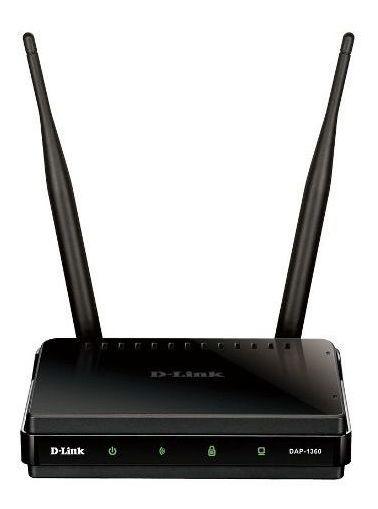 Repetidor E Roteador D-link Dap-1360 Wireless 300mbp (usado)