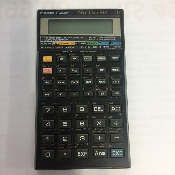 Calculadora Científica Casio Fx - 4200-p