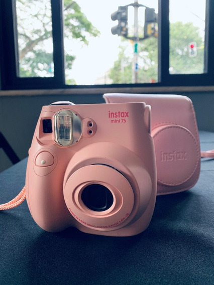 Camera Instax 7s Com Case Original