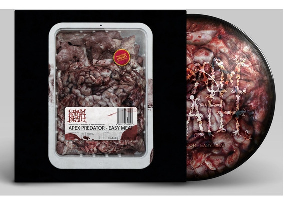 Napalm Death Apex Predator - Easy Meat Picture Disc Lp