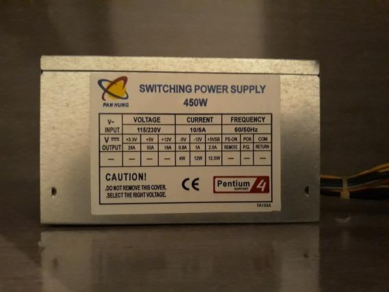 Fonte Atx Switching Power Supply 450w