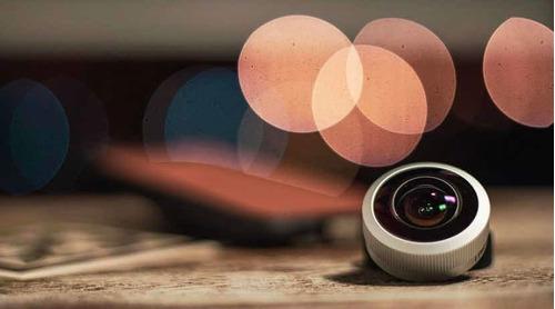 Lente Fotográfica Para Celular - Lemuro Fisheye 8mm