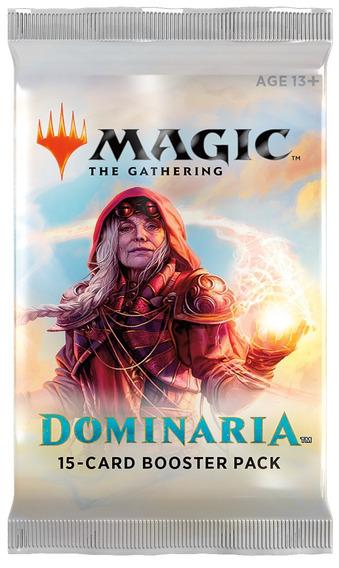 Magic The Gathering Dominária Booster Em Ingles 15 Cards